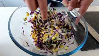 Рецепт салата Cole Slaw от Mark Craft Burgers