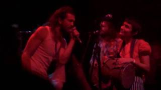 """Edward Sharpe and the Magnetic Zeros - """"Come in Please(Cross the line)"""" live in Las Vegas on 9/25/09"""