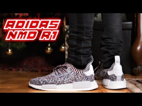 brand new ca4d9 56d62 ADIDAS NMD R1 STATIC Review and On-Feet