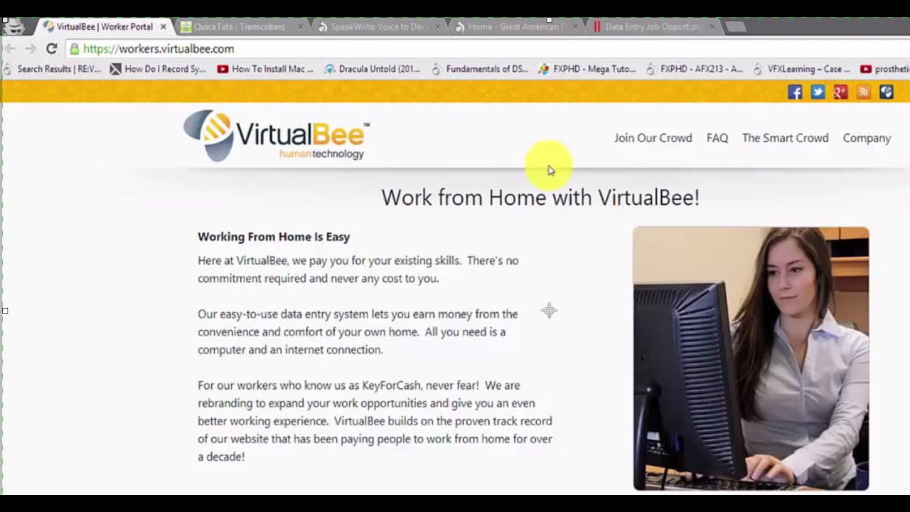 best work from home data entry jobs legitimate websites