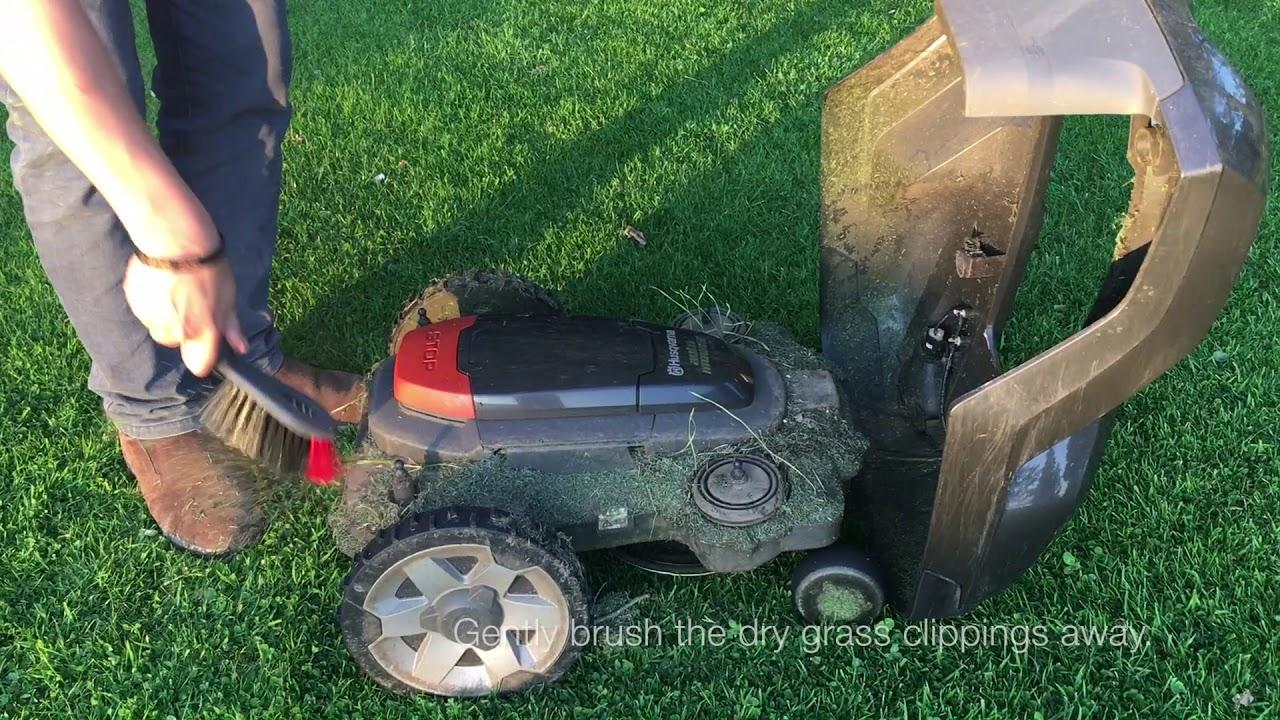 Husqvarna Automower Challenge: Collision Active