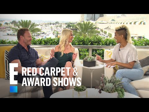 Ian Ziering Talks Working With Tori Spelling Again  E! Live from the Red Carpet