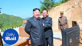 North Korea fires new missile over neighbor Japan - Daily Mail