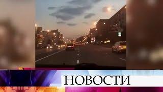 Полиция проверяет видео сгонками наКутузовском проспекте