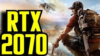 Ghost Recon Wildlands RTX 2070 OC | 1080p - 1440p & (4K) 2160p | FRAME-RATE TEST