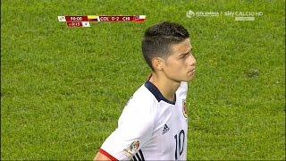 James Rodriguez vs Chile (N) 15-16 HD 1080i by JamesR10™
