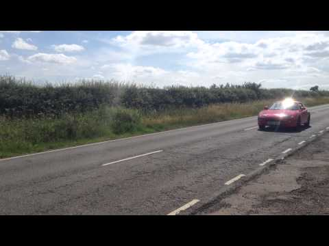 Mitsubishi FTO GPX 2.0 V6 Mivec - Exhaust Sound (Hitting Limiter, Drive By)!