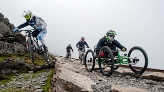 Project ENDURO - Snowdon Downhill 4 Wheel bike