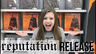 reputation Release Vlog! Buying Taylor Swift's New Album!