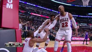 Sacramento Kings vs Chicago Bulls | January 21, 2017 | NBA 2016-17 Season