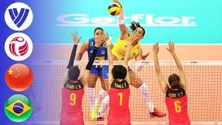China vs. Brazil - Full Match | Finals | Women's Volleyball World Grand Prix 2017