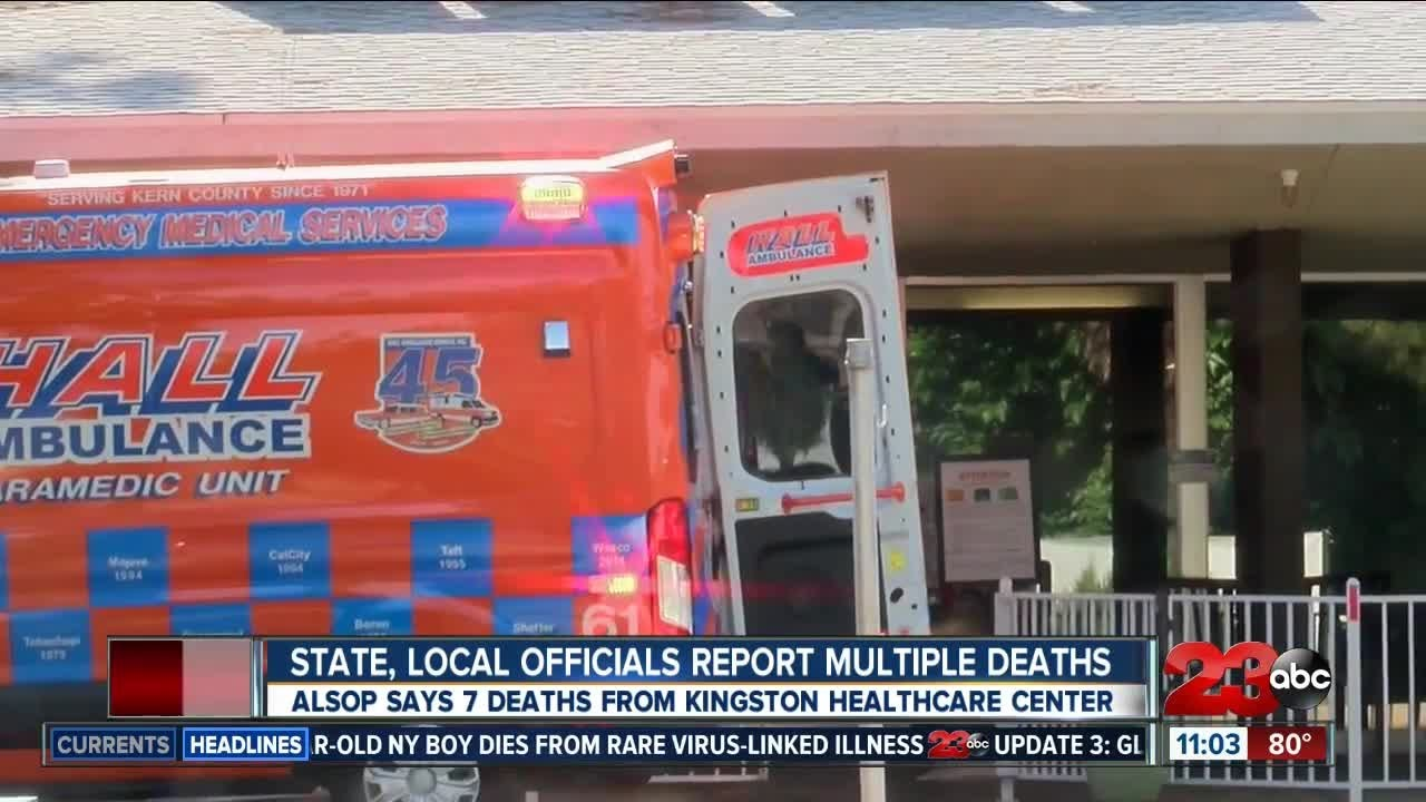 Multiple deaths at Kingston Healthcare Center in Southwest Bakersfield