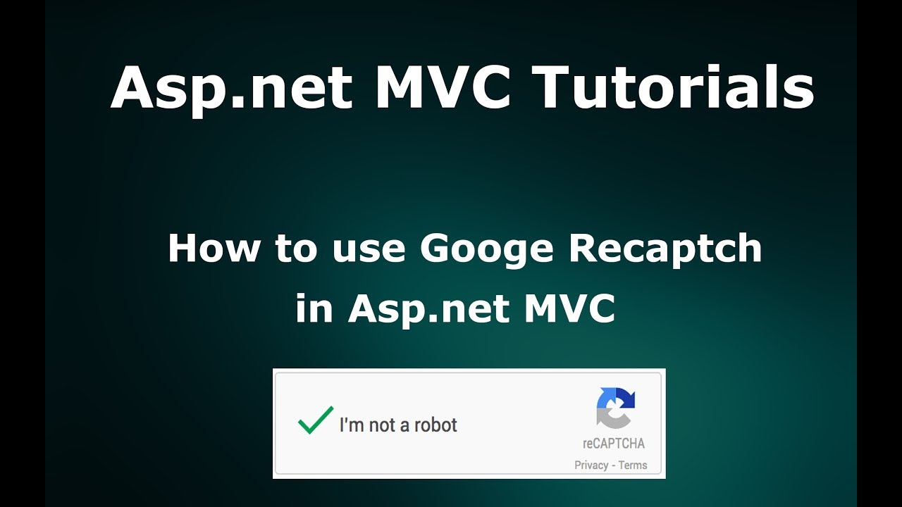 How to implement Google reCaptcha in Asp net MVC
