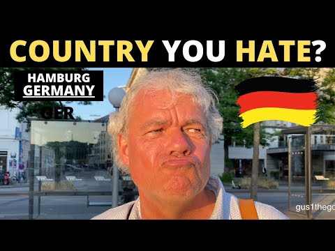 Which Country Do You HATE The Most? | HAMBURG, GERMANY