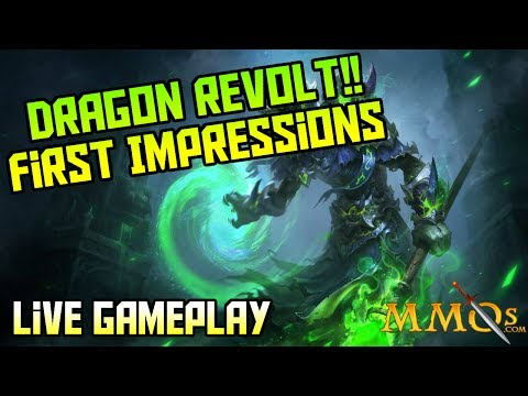 Dragon Revolt First Impression with LIVE Gameplay!