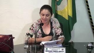 Pronunciamento pequeno expediente Meridiane Fonseca Araujo
