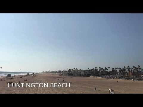 Our Day At Huntington Beach!