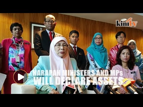 Wan Azizah: Pakatan Harapan ministers, MPs will declare their assets
