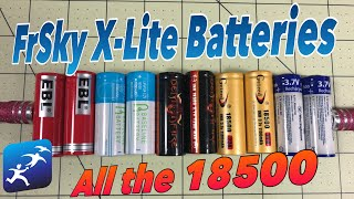 FrSky Taranis X-Lite 18500 Battery Options Today - Updates in the description