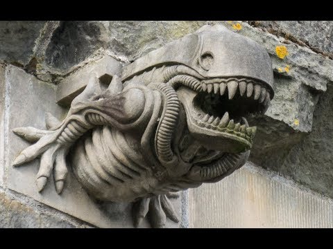 "The Mystery Of Why There's An ""Alien"" Gargoyle On A 12th-Century Scottish Abbey May Have Been Solved"
