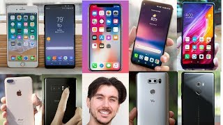 PARLIAMONE Note 8, iPhone 8, iPhone X, LG V30, Xiaomi Mi Mix 2