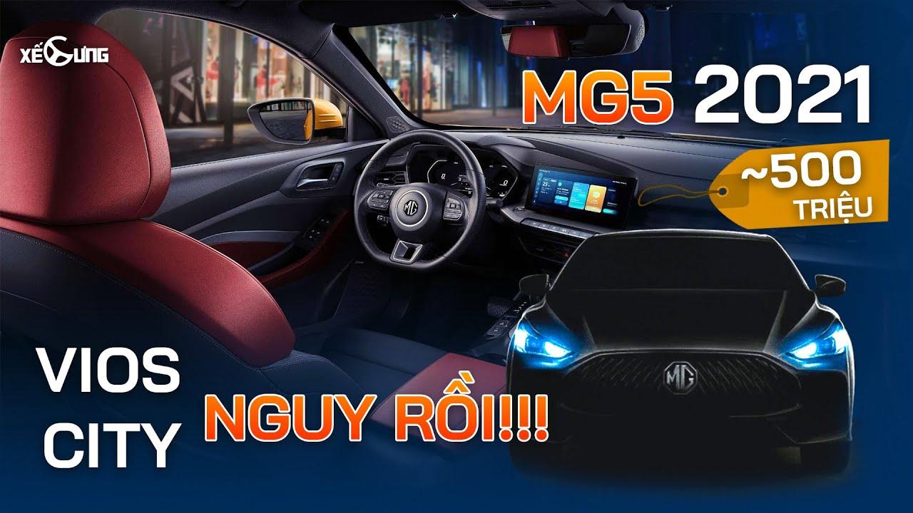 MG5 2021: đối thủ của sedan hạng C, kẻ thù của sedan hạng B
