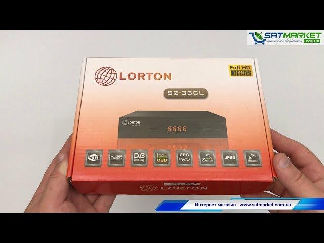 Видео обзор LORTON S2-33CL Full HD