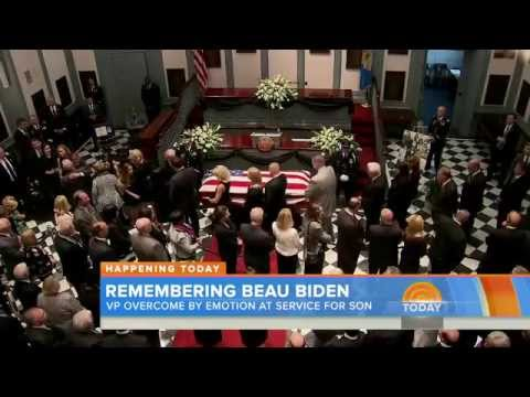 NBC NEWS Player, Beau Biden Funeral in Delaware: Obamas, Clintons to Attend