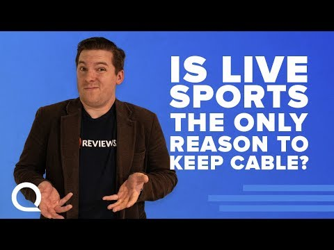 You Can Ditch Traditional TV! Yes, Even You Mr. Sports Fanatic!