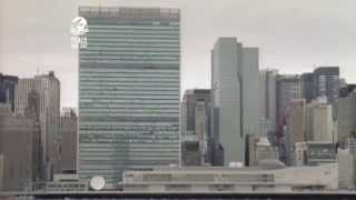 Sir Kieran Prendergast supports Peace Day (1999)