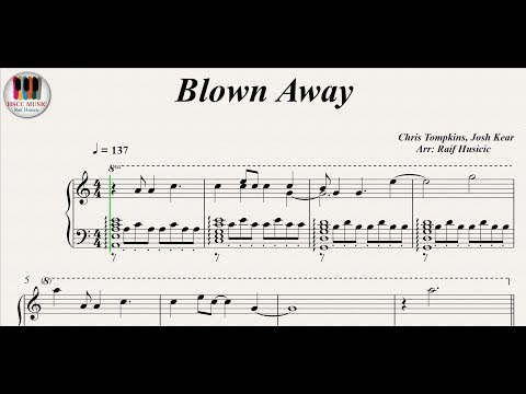 Blown Away - Carrie Underwood, Piano