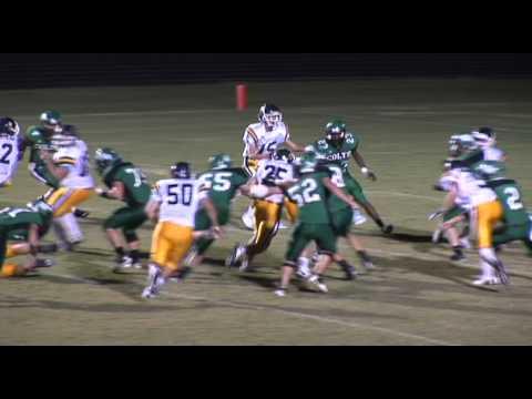 Washington School vs Lee Academy Football Highlights