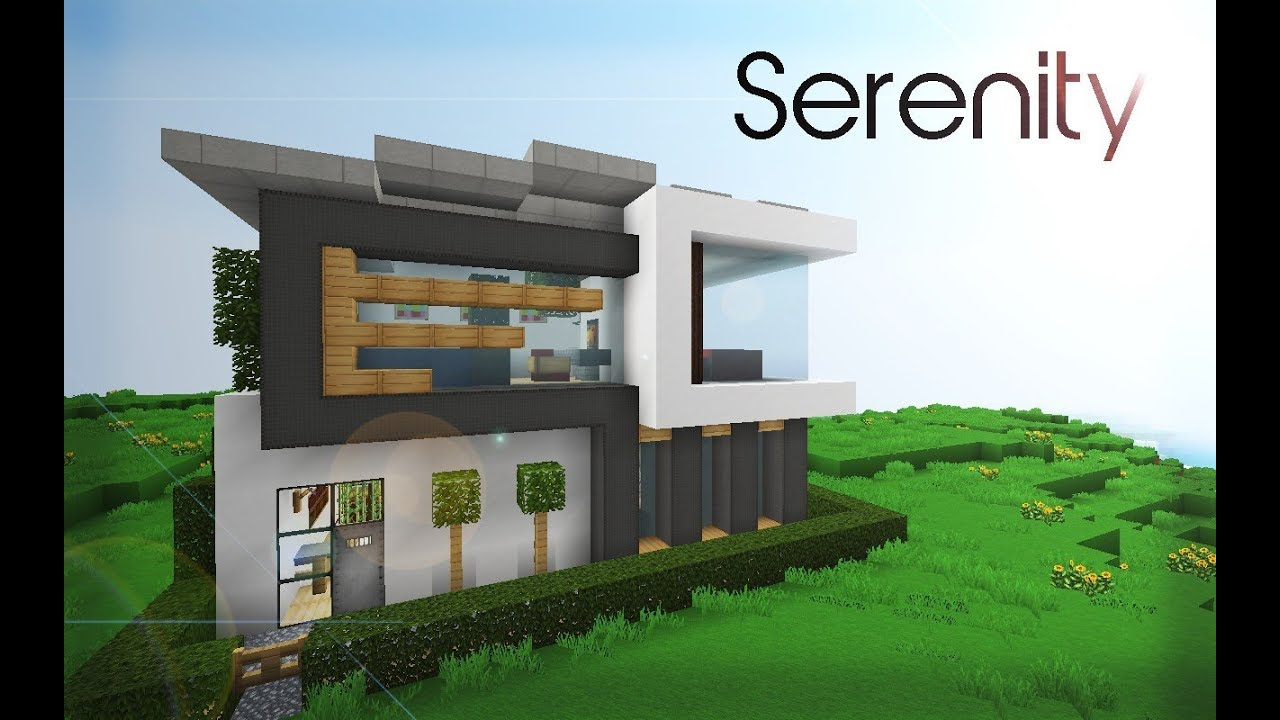 Minecraft Modern House Serenity