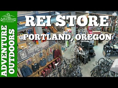 REI Store Tour ~ Portland, Oregon