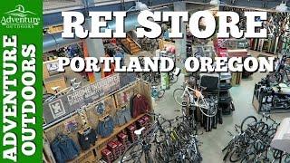 REI Store Tour ~ Portland, Oregon | Adventure Outdoors