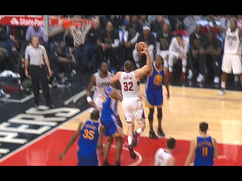 Blake Griffin Soars for the SLAM Over the Warriors | 02.02.17