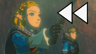 Zelda Breath of the Wild 2 Trailer in REVERSE