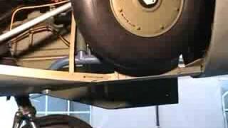 Heinkel 162 He162 landing gear test