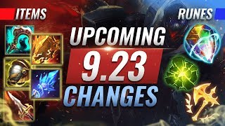 MASSIVE CHANGES: New REWORKS, Items, & Runes Coming in Patch 9.23 - League of Legends