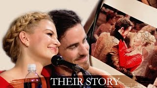 killian & emma || Their story according to jen & colin