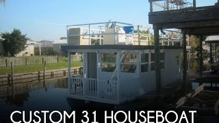 [SOLD] Used 2004 Custom 31 Houseboat in Merritt Island, Florida