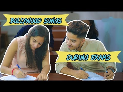 Bollywood Songs During Exams | Exam Stories in Bollywood Style - Dinesh Thakur