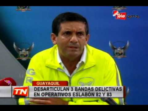 Desarticulan 3 bandas delictivas en operativos Eslabón 82 y 83