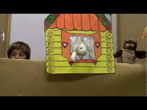 Кукольный театр  Заюшкина избушка