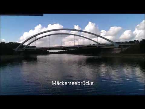 Mit 1170km/h durch den Oder-Havel-Kanal