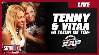 """Vitaa & Tenny """"A fleur de toi"""" en live dans Planète Rap !"""