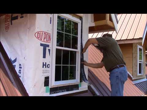 Building My Own Home: Episode 72 -Triming Out The First Dormer Part 1