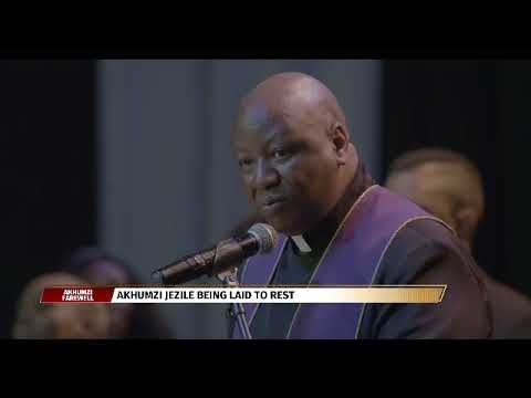 Friends and family lay Akhumzi Jezile to rest