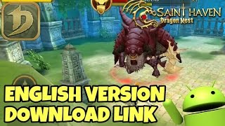 Dragon Nest Saint Haven | ENGLISH DOWNLOAD LINK | Character Creation