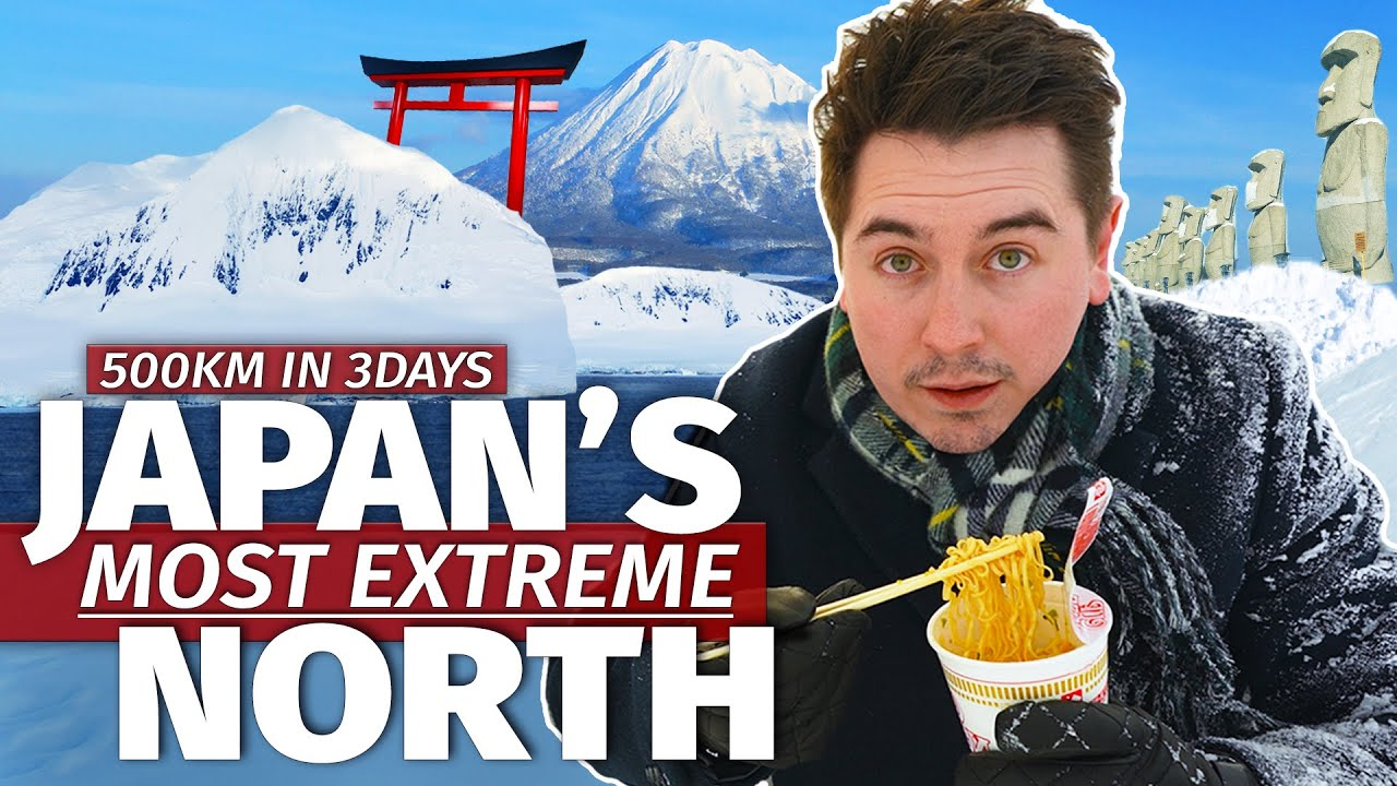 I Drove to Japan's Most Extreme North | Hokkaido Road Trip